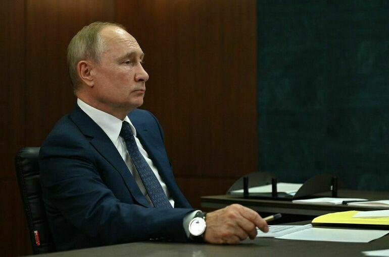 Путин рассказал, кто в окружении заразился коронавирусом