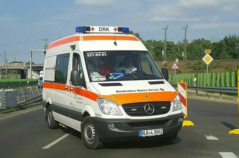 На севере Германии из-за торнадо пострадали шесть человек