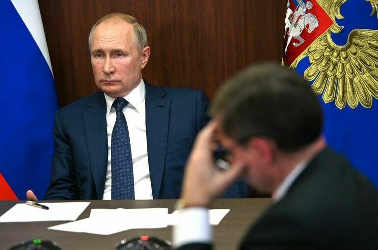 Путин поручил уточнить параметры прогноза социально-экономического развития