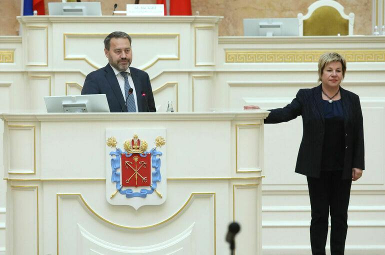 В Заксобрании Петербурга выбрали вице-спикеров и глав комитетов