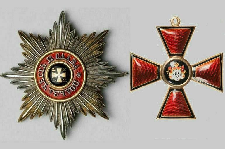 Как носили орден Святого Владимира