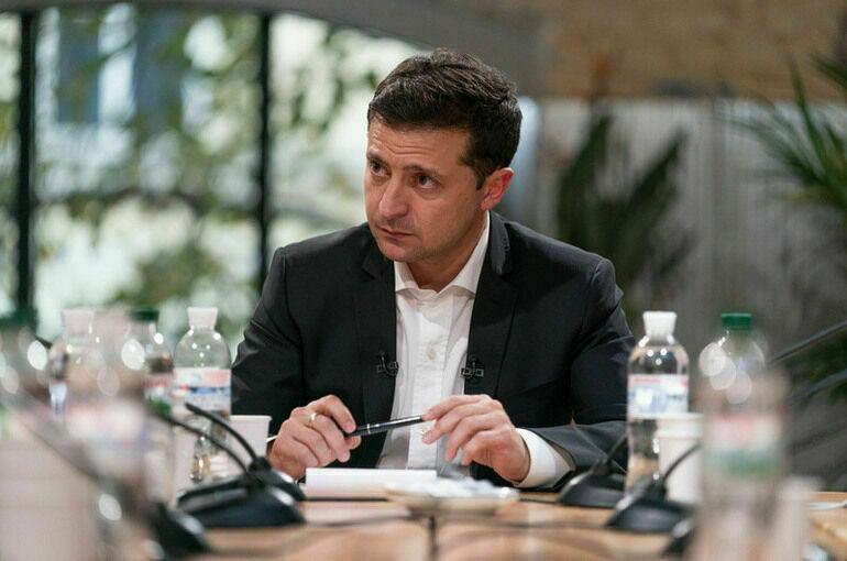 Зеленский назвал «наглой» внешнюю политику Украины