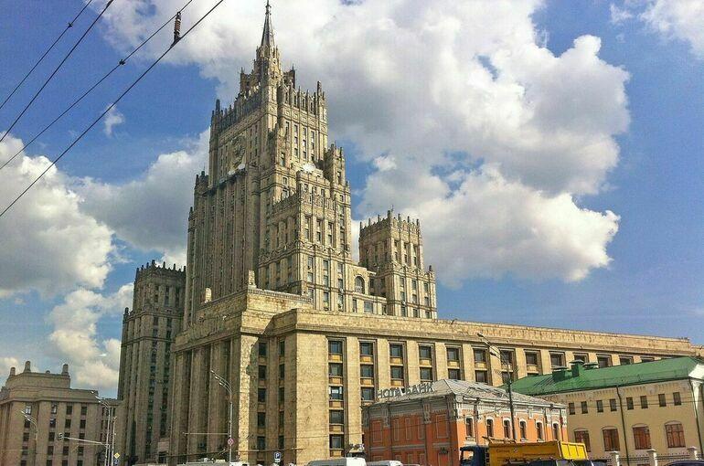 В МИД прокомментировали слова президента Финляндии о налаживании диалога с Россией