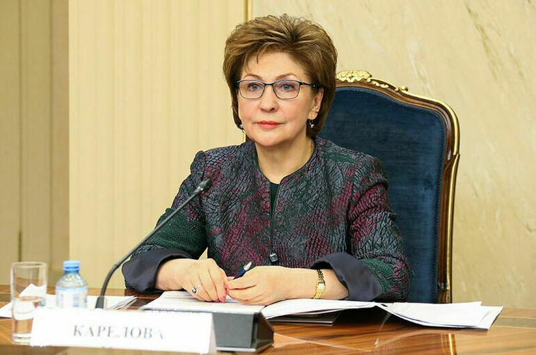 Карелова: региональная неделя женского форума позволит участницам представить свои проекты