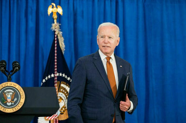 Байден призвал конгресс поднять потолок госдолга США