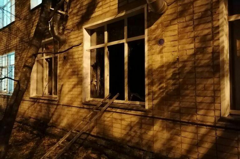 При пожаре в инфекционной больнице в Кирове погибли два человека