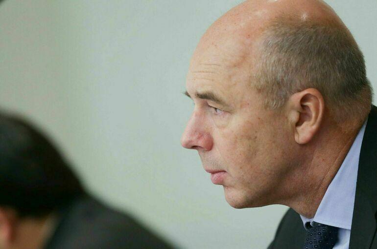 Министр финансов Силуанов ушёл на самоизоляцию