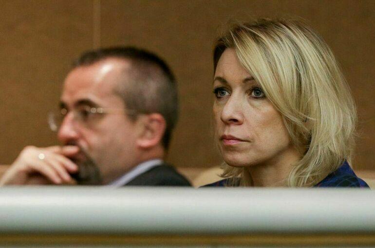 Захарова: Москва предпримет ответные меры в связи с высылкой НАТО российских дипломатов