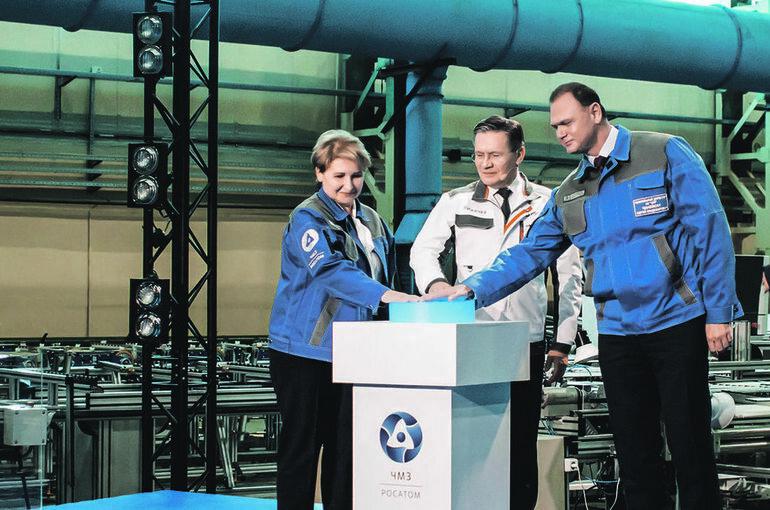 Росатом запустил собственное производство циркониевой губки для ядерного топлива