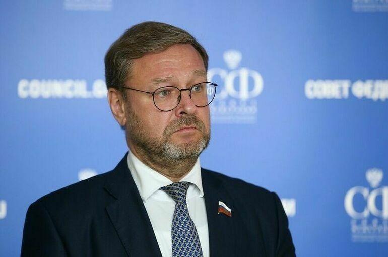 Косачев: политизация инедобросовестная конкуренция мешают признанию «Спутника V»вЕвросоюзе