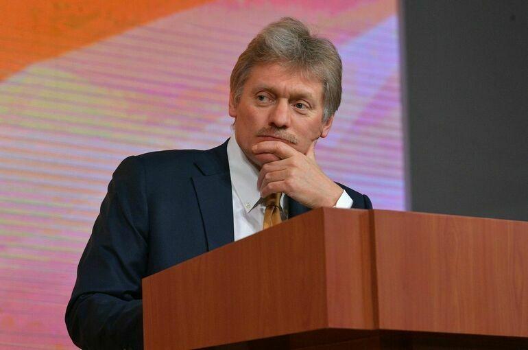 В Кремле заявили о невозможности обсуждения с Киевом темы Крыма