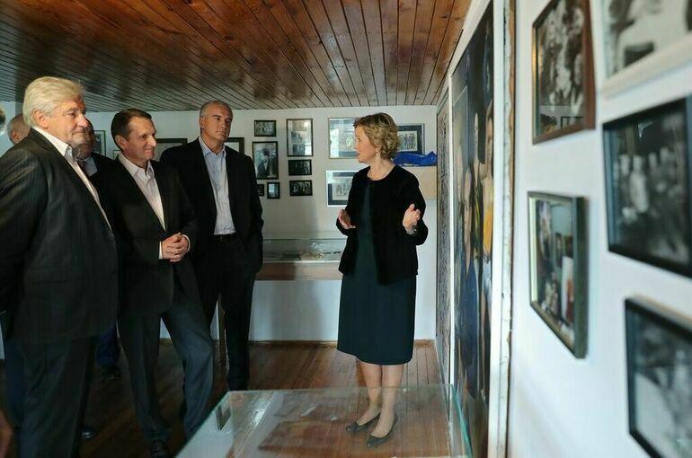 Директор службы внешней разведки РФ посетил виллу Штирлица в Крыму