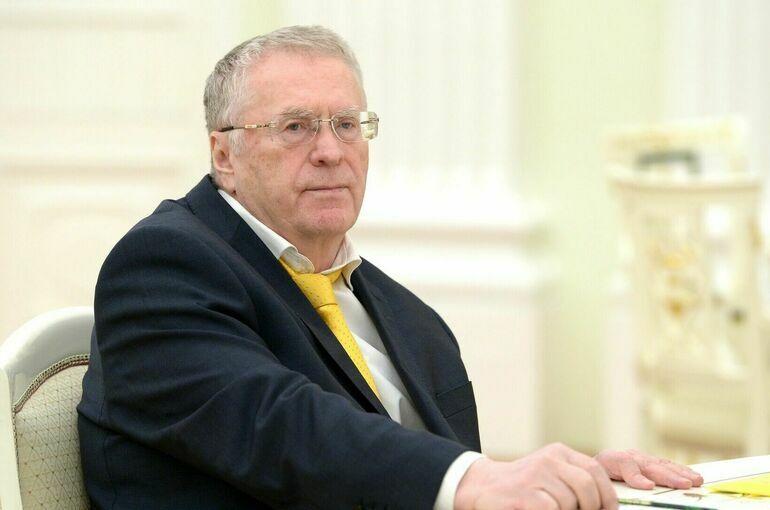 Жириновский предложил вернуться к идее строительства Парламентского центра
