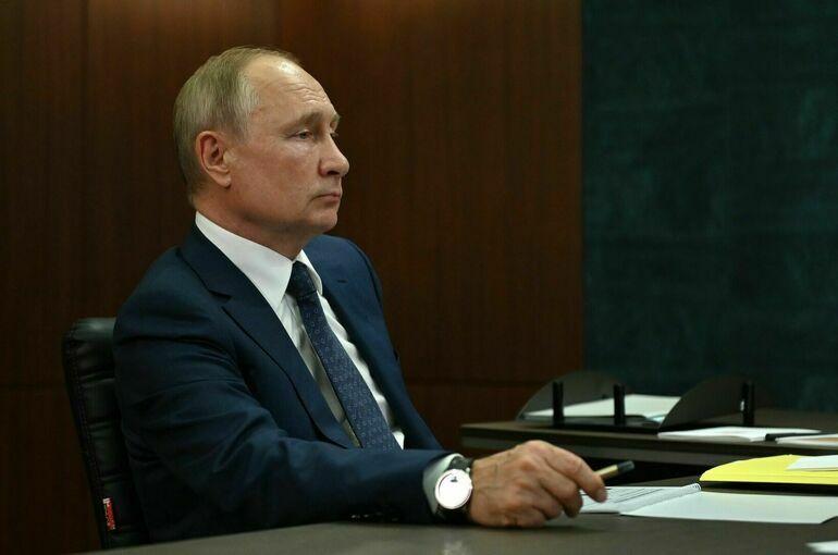 Путин поздравил ФосАгро с 20 летней годовщиной деятельности