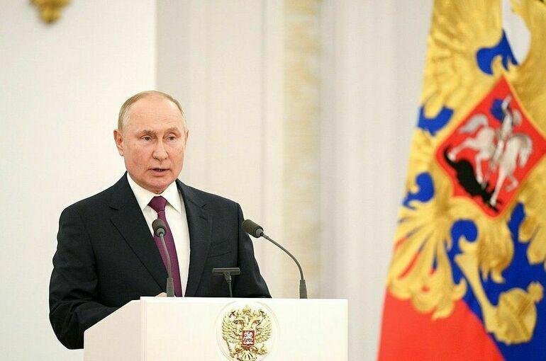 Путин предложил изменить порядок индексации маткапитала