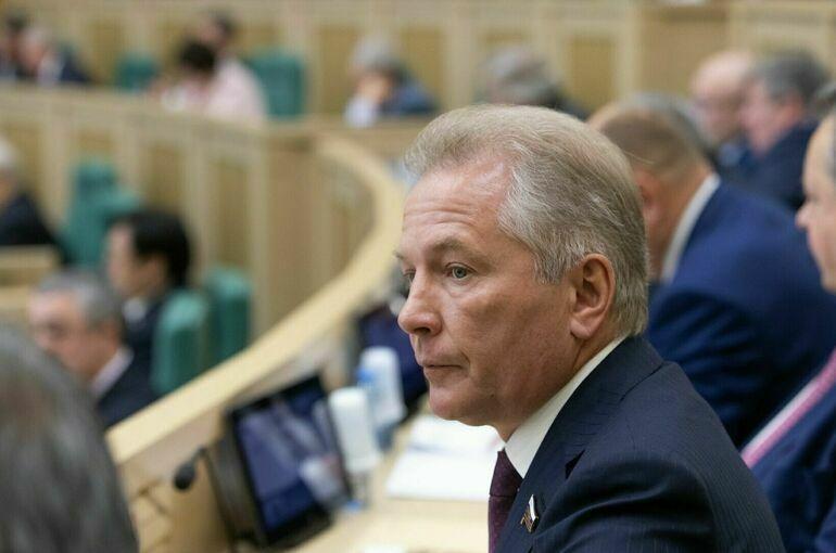 Пономарёв продолжит представлять Камчатку в Совете Федерации
