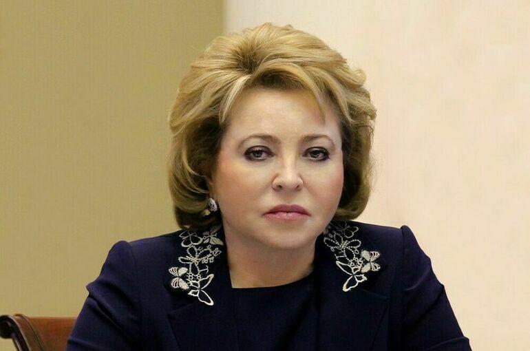 Матвиенко посетила «Кабинет здоровья будущего» в Петербурге