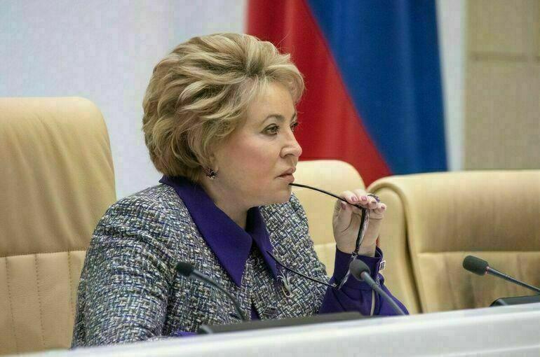 Матвиенко обсудила с главами парламентов Азербайджана и Узбекистана двусторонние отношения