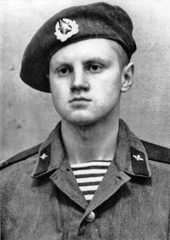 Сергей Мироонов, декабрь 1971 г.