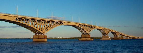 мост Саратов—Энгельс